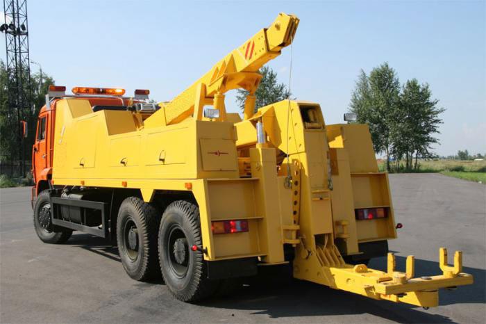 Устройство и принцип действия грузового эвакуатора